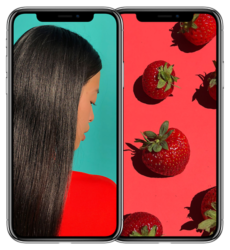 OLED Designed for <br> iPhone X