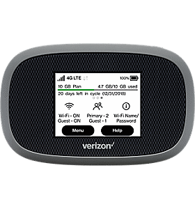 Mobile Hotspots - 4G LTE Internet Devices | Verizon Wireless