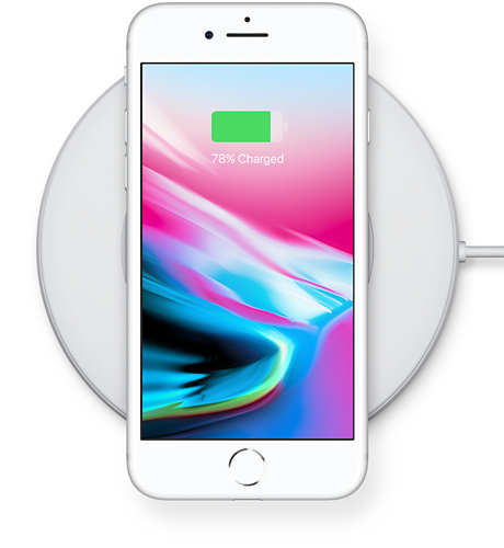 55c6e14ce00 Apple iPhone® 8 Plus Wireless charging for a wireless world.
